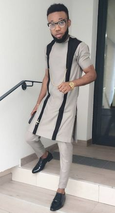 Latest African Wear For Men, African Attire For Men, African Clothing For Men, Nigerian Men Fashion, Ghana Fashion, African Men Fashion, African Dresses Men, African Shirts, Cool Outfits For Men