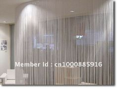 Free shipping-20 colors String curtain, string panel, fringe panel, room divider wedding drapery 1.5mx3m. $14.89 love it <3