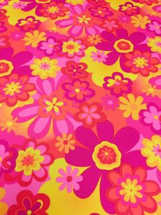Aesthetic Patterns Discover Your place to buy and sell all things handmade Neon Flower-Power Hippie Woodstock Psychedelic Stretch Spandex in Bright Neon Pink Ora Hippie Wallpaper, Trippy Wallpaper, Retro Wallpaper, Aesthetic Iphone Wallpaper, Wallpaper Backgrounds, Aesthetic Wallpapers, Print Wallpaper, Screen Wallpaper, Wallpaper Quotes