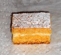 Mrkvový linzer s tvarohom (fotorecept) - recept Cornbread, Vanilla Cake, Ethnic Recipes, Food, Basket, Millet Bread, Essen, Meals, Yemek
