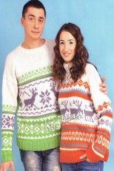 Мужской и женский свитера