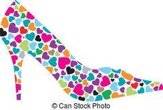 High Heels Clip Arts Boutique | High heel pumps Illustrations and Stock Art. 409 High heel pumps ...