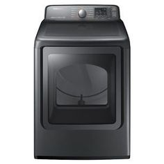Samsung 7.4-cu ft Electric Dryer with Steam Cycles (Platinum) ENERGY STAR - DV48J7770EP