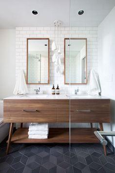 Sechseck Fliesen Fußboden Im Bad - Badezimmer Überprüfen Sie mehr http://hausmodelle.com/12190/sechseck-fliesen-fussboden-im-bad/