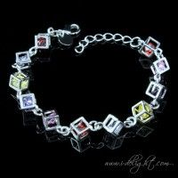 Colored Stones Bracelet ATBR004-1