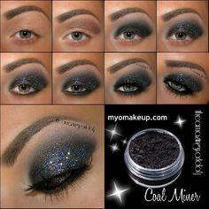 Glitter Smokey Eyes !!!