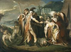 James Barry - King Lear Weeping over the Dead Body of Cordelia