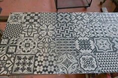 Mesa de centro artesana ceramica hidraulica en Barcelona - vibbo - 94702640