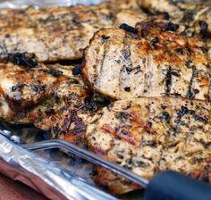 Greek Marinade for Chicken, Steak & Pork