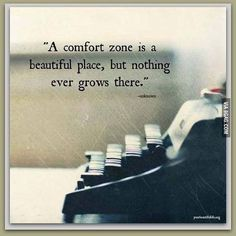 Time to step out of your comfort zone! #9gag