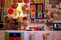 La Maison Boheme: Kitchen Love - everything on the wall