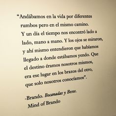 Mind of Brando Amor Quotes, Poetry Quotes, Words Quotes, Favorite Quotes, Best Quotes, Love Quotes, Inspirational Phrases, Love Phrases, Deep Words