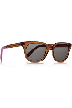 D-frame acetate sunglasses (£70.00) - Svpply. a new fashion for young generation and has a cheap value.