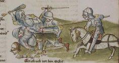 Thomasin <Circlaere>   Welscher Gast (a) Schwaben, um 1460-1470 Cod. Pal. germ. 320 Folio 58r