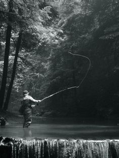 Fly-Fishing in Pensylvania - Photo by M. Kinney