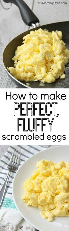 How to make perfect, fluffy scrambled eggs | Cocinando con Alena