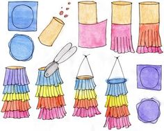decode ideas tinker with toilet paper roll diy ideas to tinker with children pinata Toilet Paper Roll Diy, Paper Towel Roll Crafts, Paper Crafts, Diy For Kids, Crafts For Kids, Birthday Care Packages, Rainbow Party Decorations, Eid Crafts, Kindergarten Crafts