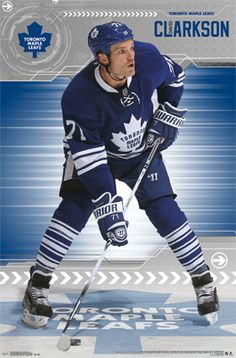 Toronto Maple Leafs - David Clarkson 2013 | NHL | Sports | Hardboards | Wall Decor | Pictures Frames and More | Winnipeg | Manitoba | MB | Canada