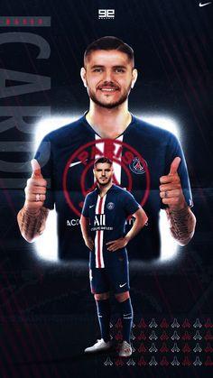 Mauro Icardi | PSG Football Players Images, Coco Costume, Mauro Icardi, Sports Graphic Design, Sports Graphics, Football Wallpaper, Juventus Fc, Neymar, Fifa