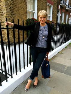 Interesting fashion blog - Nikki Garnett, Midlife Chic