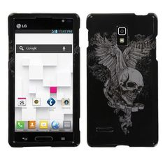 Get the Most Popular #LG #Optimus #L9 #P769 #Hard #Cover #Case - Skull Wing! This design will make your LG Optimus L9 P769 more cute and protect your valuable and essential device from scratches, drops, and other damages. $8.99