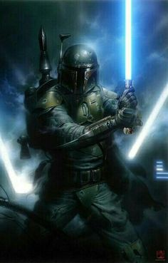 Boba Fett trained in many forms of martial arts and weapons combat.  He feared he would die a quick death like his father unless he trained himself to be better in one on one combat.  He was taught by many masters in various forms of self-defense and fighting.  One of his best mentors was the Bounty Hunter Aurra Sing who Boba swore a loyalty to after she rescued him multiple times when he was younger.