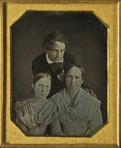 ca. 1850, [Otto Natt och Dag and his family, portrait] via the Digitalt Museum of Sweden