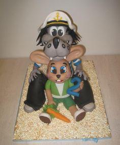3D cake Well, Just You Wait! Jen počkej zajíci! - Cake by Eliska