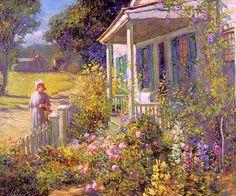 Graves, Abbott Fuller (American, 1859-1936) 1. Американские художники