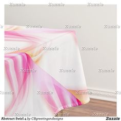 Abstract Swirl 4 Tablecloth