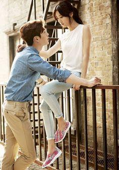 Kim Sae Ron Seo Kang Joon Blue Mountain Spring Summer 2016