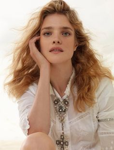 Natalia Vodianova for Elle France by Jean Baptiste Mondino