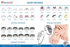 safasilver.com, we present our extensive range of high-quality silver-toe rings at various price ranges. It means that you get fantastic quality at affordable prices as all our products are made at our factory in Thailand and sold worldwide at wholesale prices. #silver #jewely #toerings #toe #rings #oxidized #jewelryoftheday #love #jewelrymaking #jewelrylover #uniquejewelry #puresilver #silverlove #toeic #jewelry #toe #925 #originalcharacter #fashion Sterling Silver Toe Rings, Wholesale Silver Jewelry, Jewelry Design, Unique Jewelry, Buying Wholesale, Ranges, Thailand, Crystals, Products