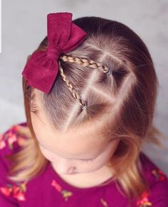 Each of these hairdos are all fairly simple and are ideal for starters, quick and easy toddler hair-styles. Cute Girl Haircuts, Baby Girl Hairstyles, Ladies Hairstyles, Toddler Hairstyles, Toddler Hair Dos, Toddler Braids, Kids Hairstyle, Princess Hairstyles, School Hairstyles