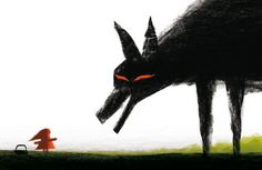 by Christian Roux    from Animalarium: A Tale in Red and Black - The encounter
