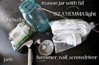 how to for mason jar light