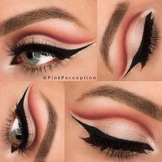Gorgeous Makeup: Tips and Tricks With Eye Makeup and Eyeshadow – Makeup Design Ideas Dramatic Eye Makeup, Eye Makeup Art, Beautiful Eye Makeup, Blue Eye Makeup, Eye Makeup Tips, Pretty Makeup, Makeup Ideas, Makeup Set, Makeup Tools