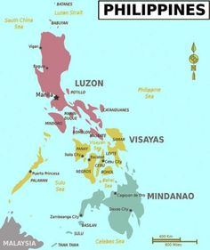 Entire Map Of Philippines Maps Of The World In 2019 Pinterest