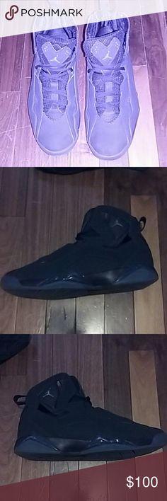 Jordan Flight Navy blue & light blue Jordan Flights Jordan Shoes Athletic Shoes