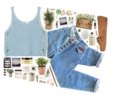 """""""Untitled #1556"""" by dear-scone ❤ liked on Polyvore featuring The White Company, Forever 21, Minnetonka, H&M, Torre & Tagus, philosophy, Fig+Yarrow, Lucky Brand, Charlotte Russe and Herbivore"""