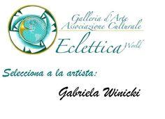 """incorporada como artista integrante de la Galería Internacional """"Eclettica"""" en su sede de Spoleto,ITALIA."""