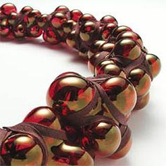 evert nijland jewelry designer. Garnet beads