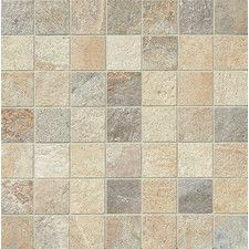 "Rok 2"" x 2"" Porcelain Mosaic Tile in Mix Colors"