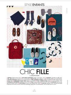 Cut&Paste Blue for Elle Deco France