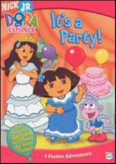 Cover image for Dora the Explorer. It's a party!
