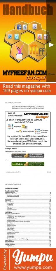 Das Handbuch zu MyFreeFan - Kostenlos anmelden und mitmachen ... http://MyFreeFan.com