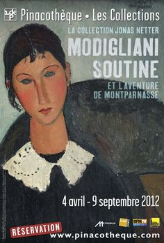 The collection of the rather retiring and enigmatic Jonas Netter is on display at the Pinacothèque de Paris until September 9, 2012. The exhibit is entitled Modigliani, Soutine et l'aventure de Montparnasse. Netter was a businessman from the Alsace region of France who became passionate about collecting art upon his arrival in the capital. He couldn't afford the Impressionists, so he turned his attention to emerging artists and ended up as the primary financial support of several of them…