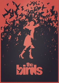 The Birds, by Alfred Hitchcock (Fanart Poster)