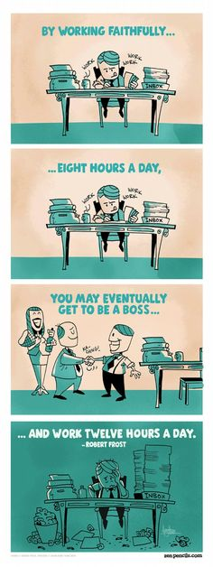 How to be a boss! [Infographic]