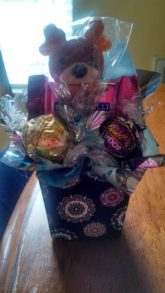 Mini candy bouquet.